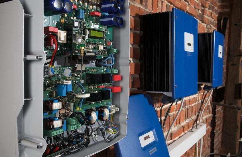 Inside a Solar power inverter